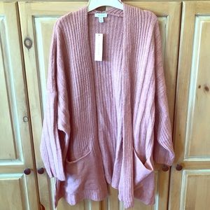TOPSHOP KNIT OPEN FRONT SWEATER NWT size 8-10